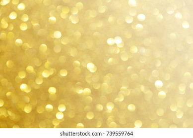 Golden glitter christmas abstract background.