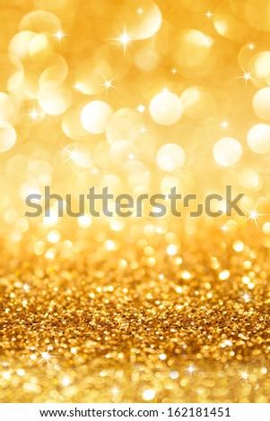 golden glitter stars christmas background vertical stock photo edit