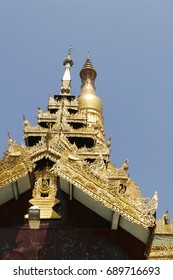 Golden God Temple, Myanmar, Pagoda, Buddhism, Dynasty, Lower Burma