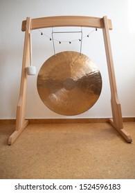 Golden Gong healing music instrument