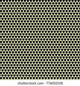 Golden grid pattern
