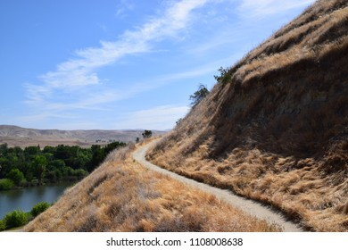 Golden hills of Kern County, a place with plenty of trails to explore is Hart Memorial Park, Bakersfield, CA.