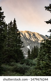 Golden hour captures lighting up one of Colorados most beautiful 14ers