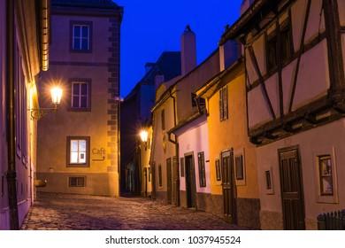 Golden Lane on Prague Castle