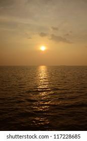 Golden Light in the Evening.