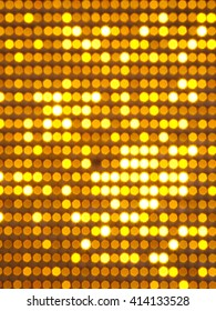 golden lighting abstract, use for decoration or graphicdesign
