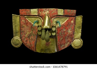 Golden Mask of the Peruvian Lords.