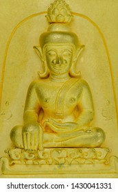 The Golden  material amulet from Thailand,classic style ,Powerful .