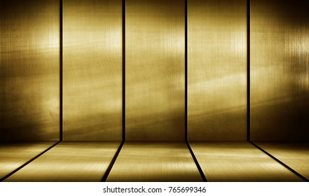 golden metal bar background