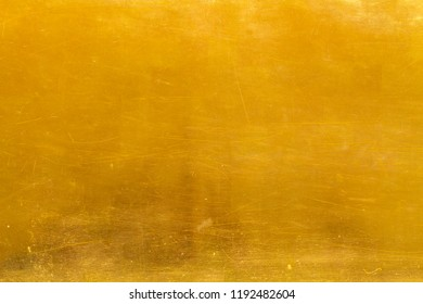 Golden metal plate for background