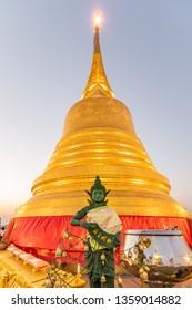 Golden Mount, temple  in Bangkok, Thailand.