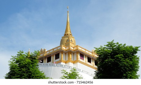 Golden mountain Temple, Bangkok, Thailand