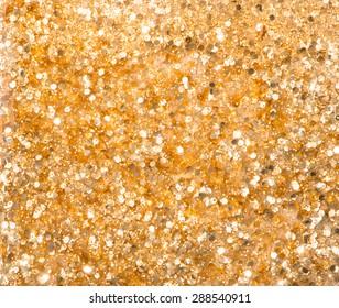 golden Nail polish background