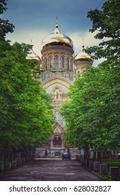 Golden Orthodox church