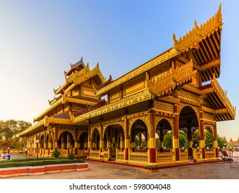 The Golden Palace in Bagan. Bagan is an ancient city located in the Mandalay Region of Myanmar .