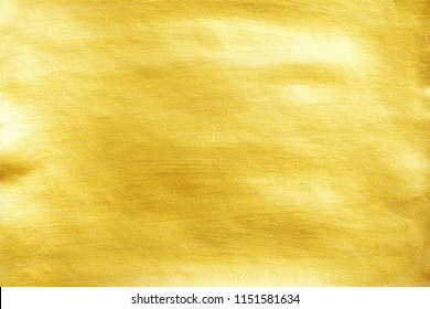 Golden paper texture background.
