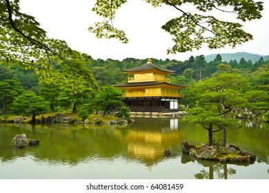 Golden Pavilion (Kinkaku-ji), Kyoto, Japan