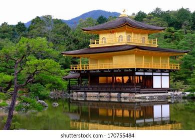 Golden pavilion-Japan