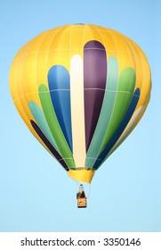 Golden Peacock Themed Hot Air Balloon