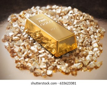 Golden pile