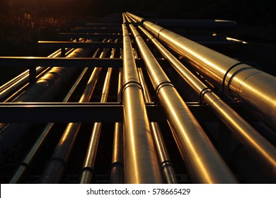 golden pipeline system transport in oil crude refinery