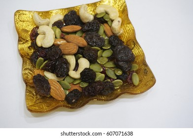 Golden Plate of Mixed Nuts