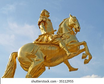 The Golden Rider, Dresden