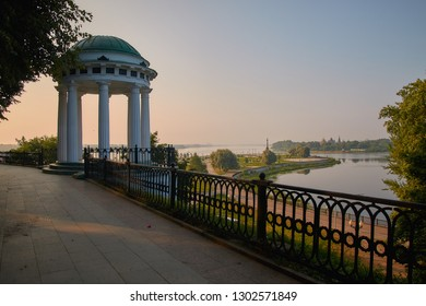 The Golden Ring of Russia, the ancient city of Yaroslavl.