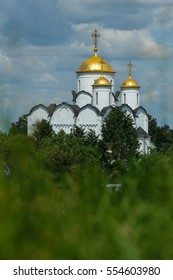 The Golden ring of Russia, the Cathedral of the intercession in Suzdal.