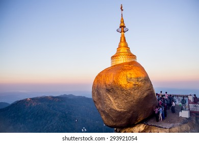 Golden Rock Kyaikhtiyo , Myanmar