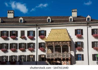 Goldenes Dach - Innsbrucks berühmtestes Wahrzeichen in Tirol / Österreich