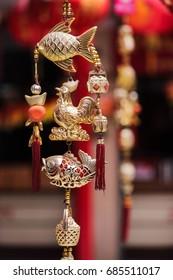 golden rooster amulet