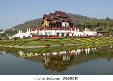 Golden Royal Temple in Thailand