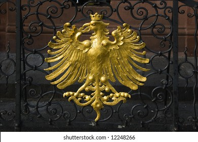 golden seal of a German eagle