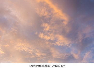 Golden sky, texture and background