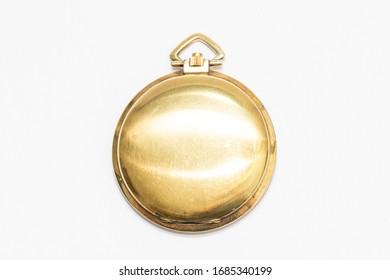 Goldene kleine Taschenuhr Schweizer handgefertigt, alt und wertvoll