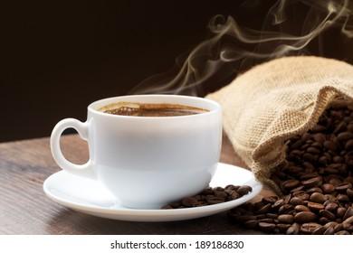 golden smoke taking away from coffee seeds