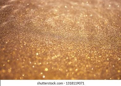 golden sparkle background