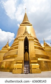 Golden Stupa in Grand Palace, Thailand