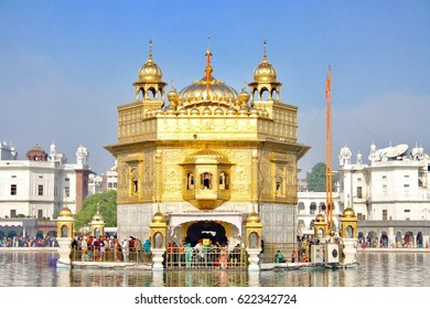 Golden temple Amritsar Punjab India