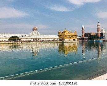 The Golden Temple, also known as Darbar Sahib, is a Gurdwara located in the city of Amritsar, Punjab, India. It is the holiest Gurdwara and the most important pilgrimage site of Sikhism.