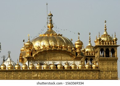 The Golden Temple, also known as Harmandir Sahib.The temple is spiritually the most significant shrine in Sikhism