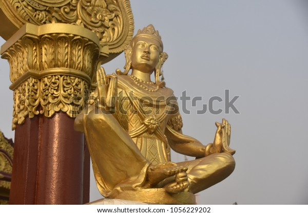 the golden temple -  the largest theravada buddhist temple in bandarban, Bangladesh