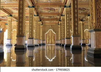 Golden temple, Thailand