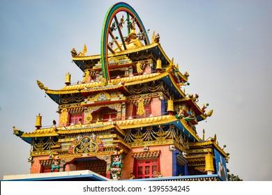 Golden Temple, Tibetan Monastery, Bylakuppe, Coorg, Karnataka