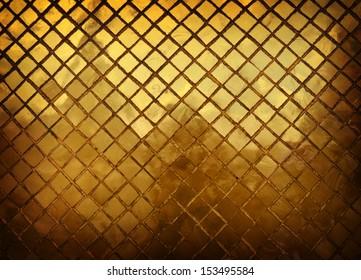 golden tiles background