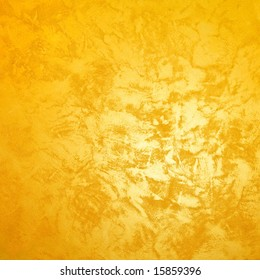 Golden wall with texture for rich background