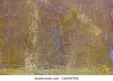 Golden weathered surface