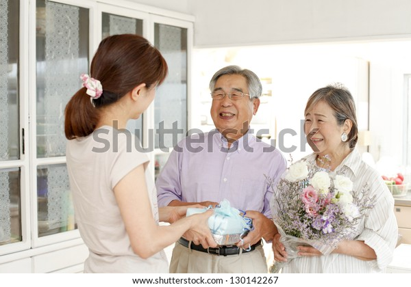 Golden wedding celebration