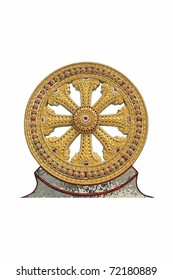 Golden Wheel of Dharma in Thailand